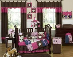 Girls Horse Bedding Set by Crib Bedding Set Cowgirl