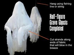 illuminated halloween decorations halloween decoration how to make human size ghosts how tos diy