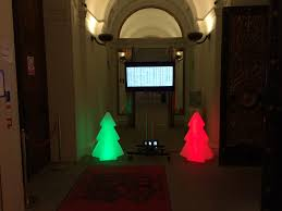 led christmas tree hire in leicestershire premier events
