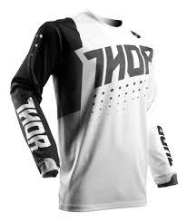 black motocross jersey thor pulse aktiv jersey revzilla