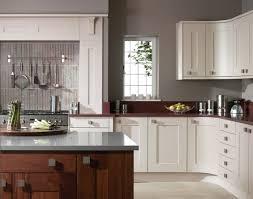 kitchen astounding l shape white and grey kitchen decoration