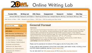 Purdue OWL  APA Formatting   The Basics   YouTube Excelsior College OWL