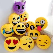 aliexpress com buy 30cm cute creative smile emoji pillow cushion