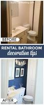 Cute Apartment Bathroom Ideas Colors Best 25 Apartment Bathroom Decorating Ideas On Pinterest Small