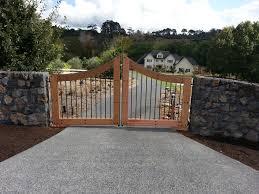 Second Nature Landscaping by Timber U0026 Steel Gate Rock Wall Landscape Design Garden Care