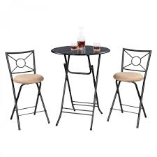 Height Of Kitchen Table by Bar Height Folding Table For Your Own Bar