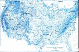 Big Map Of The United States by Physiographic Maps Of The United States