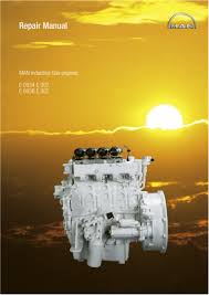 man industrial gas engine e 302 service repair manual