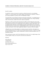 sample of resume and cover letter sample cover letter for a recent college graduate resume sample cover letter for a recent college graduate resume communication