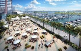 San Diego Convention Center Floor Plan by Embarcadero Parking Areas