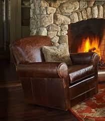 Lodge Living Room Decor by Bean U0027s Leather Lodge Sofa L L Bean 11 Warren Ideas Pinterest