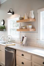 Glass Kitchen Tile Backsplash Ideas Kitchen Subway Tile Backsplashes Pictures Ideas Tips From Hgtv