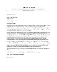 Job Wining Cover Letter Sample For Sales Job Position   Vntask com