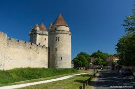 Small Castle by Castles And A Medieval Town Of France