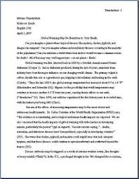 term paper format mla