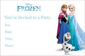 Birthday Invitation Cards For Kids Best Frozen Invitation Cards 76 In Design Your Own Invitation
