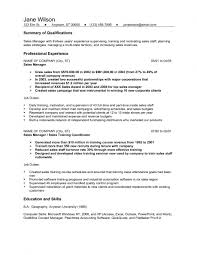 Sales Manager Sample Resume by Resume Template Examples Job Example With Education And