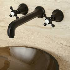 Bathroom Sink Wall Faucets by Unique Oil Rubbed Bronze Bathroom Faucet Inspiration Home Designs
