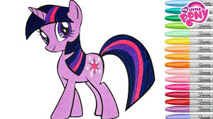 My Little Pony Colouring Pages My Little Pony Coloring Book Twilight Sparkle Mlp Princess