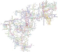 N America Map by Fantasy Map North American Metro Map By Mark Transit Maps