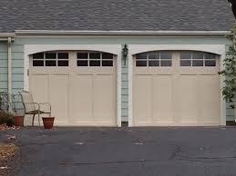 Graves Garage Doors by Clopay Coachman In Almond Installed In Simsbury Ct Garage Doors