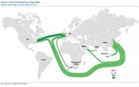 Latam Map China Is A True Mega Trader Map Business Insider