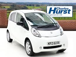 peugeot electric car used 2012 peugeot ion 5dr auto for sale in northen ireland