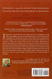 amazon com galileo u0027s daughter a historical memoir of science
