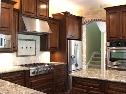cherry cabinets in kitchen brown wooden cherry kitchen cabinet and kitchen island plus white
