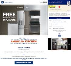 promoboxx ge appliances campaign the great american kitchen event
