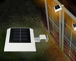 Solar Fence Lighting by Gutter Solar Patio Lights