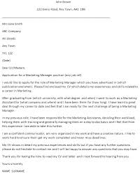 General Manager Cover Letter Examples Livecareer Dynu