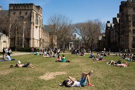 Best  Brightest and Rejected  Elite Colleges Turn Away Up to        The New York Times Students at Yale University last spring  A generation ago  it was rare for even highly competitive colleges to offer places to fewer than    percent of