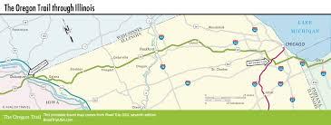 Google Maps Illinois by The Oregon Trail Through Illinois Road Trip Usa