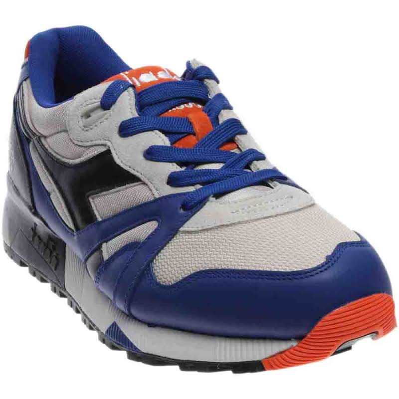 Diadora N9000 L-S Running Shoes Blue;Grey- Mens
