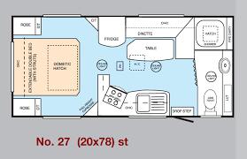 Caravan Floor Plan Layouts Millard Caravans Shower Van Layouts