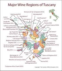 Italy Region Map by Tuscany U2013 Italy U2013 Swe Map 2017 U2013 Wine Wit And Wisdom
