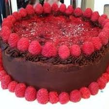 deep chocolate raspberry cake photos allrecipes