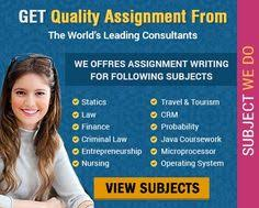 Instant Assignment Help provides different types of assignment