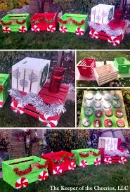 diy christmas crate train craft for outside diy christmas ideas