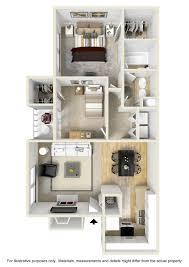 2 Bedroom 1 Bath Floor Plans Colorado Springs Apartments Floor Plans Cheyenne Crossing