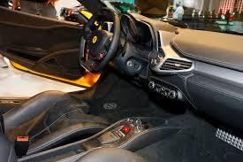Ferrari 458 Italia Interior - ferrari 458 italia live at frankfurt motor show