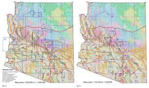 Map Az New Geologic Map Index For Arizona Geological Survey Map Products