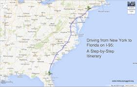 Large Map Of Florida by Driving From New York To Florida U2013 A Step By Step Itinerary Kids