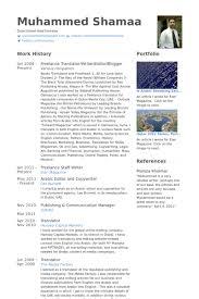 The Best Resume In The World by Freelance Translator Resume Samples Visualcv Resume Samples Database