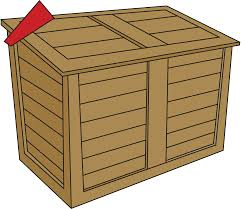 Free Wooden Garbage Box Plans by Waste Services County Of Dufferin
