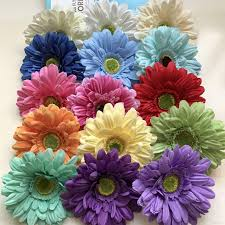 Flowers Plants by Silk Daisy Artificial Flowers For Wedding Home Decoration 13cm