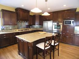 Stove In Kitchen Island Kitchen Exquisite Marble Kitchen Countertops With Cream Color