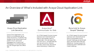 Whats Included Avaya Cloud Application Link Ppt Download