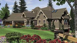 Craftsman Home Plans With Pictures Craftsman House Plan With 4 Bedrooms And 3 5 Baths Plan 5555